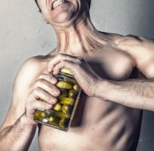 Muskelverkrampfung